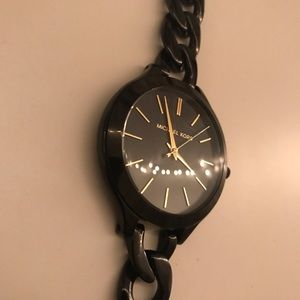 Michael Kors Black Watch - Women's